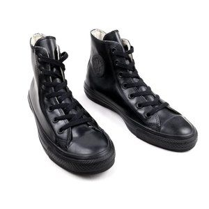 Chuck Taylor All Black Rubber Converse Sneakers 6